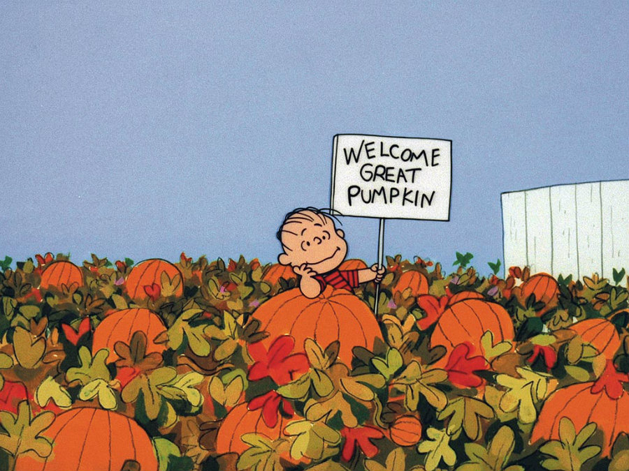 """""""It's the Great Pumpkin, Charlie Brown"""" was premiered on October 27, 1966. Photo credit:  Peanuts Worldwide and Harpercollins Publishers / People"""