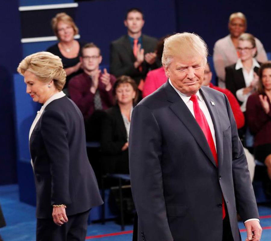 Hilary Clinton and Donald Trump
