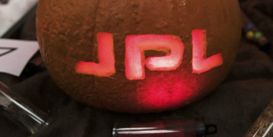 Scientists at NASA Jet Propulsion Lab celebrated Halloween in the best way ever. Photo credit: Inverse