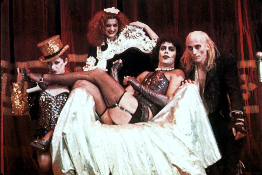 The original musical was written by Richard O'Brien on 1975. Photo credit: Rex USA / Vanity Fair