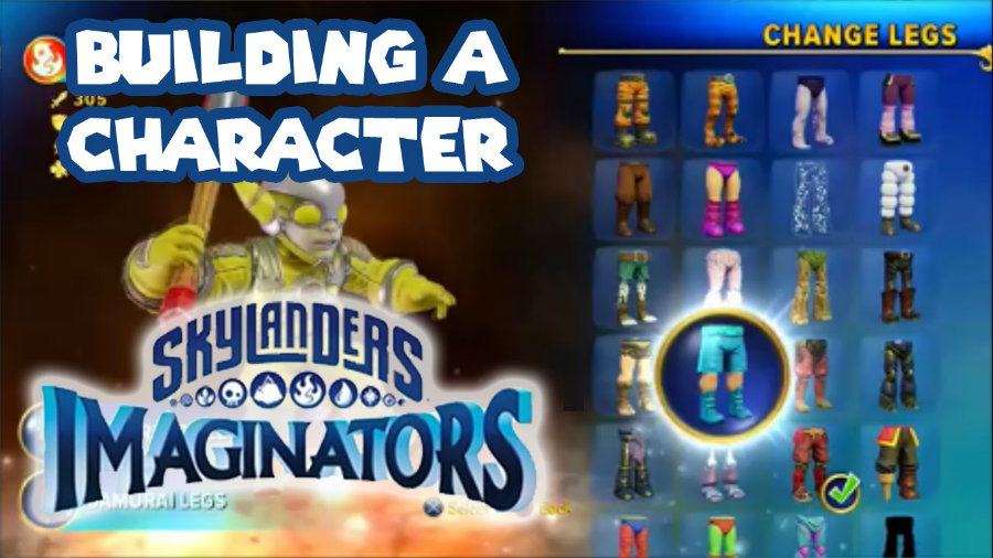 Fans will be able to choose from unlimited layers of combinations inside the game and transfer the data to the free Skylanders creator mobile app. Photo credit: The Titanium Drago Youtube Channel