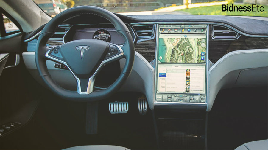 Tesla's electric vehicles have been under public scrutiny after several fatal car crashes involving its autopilot function. Photo credit: BidnessEtc
