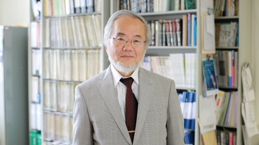 "Ohsumi was selected for his ""discoveries of mechanisms for autophagy,"" according to the Nobel Assembly at Karolinska Institutet. Photo credit: Reuters / Quartz"