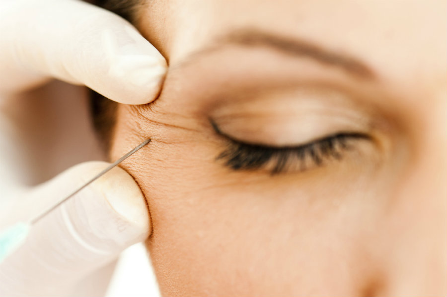 Botox is popular for smooth wrinkles, but for the study, the drug was used to relax muscle spasms that do not let people control their bladder. Photo credit: Oregon Eye Specialists