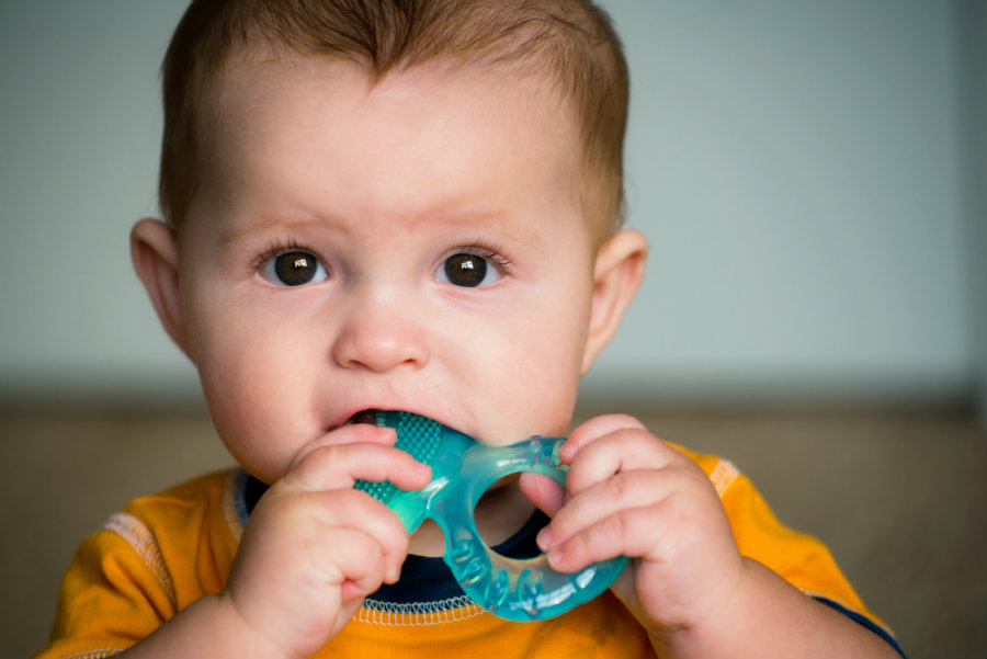 The FDA issued a warning  against the use of homeopathic teething products in children. Photo credit: Robert Hainer / HenFamily