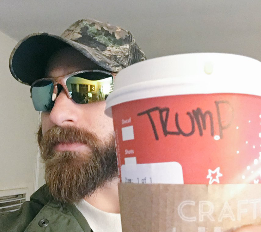 Trump supporters, Starbucks