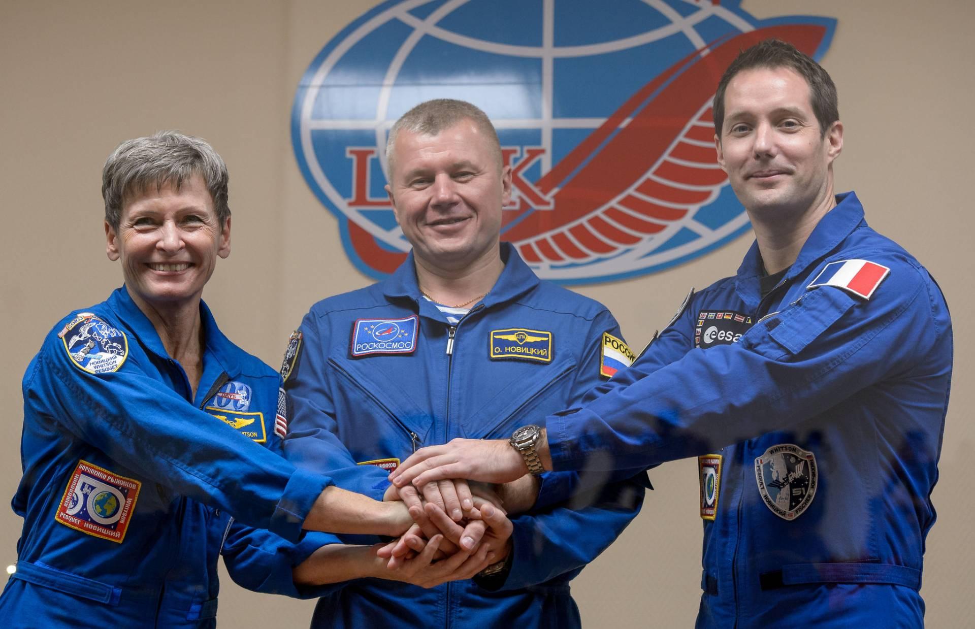 NASA Astronauts, ISS, ESA
