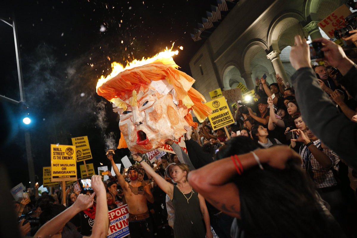 Trump protests in Los Angeles