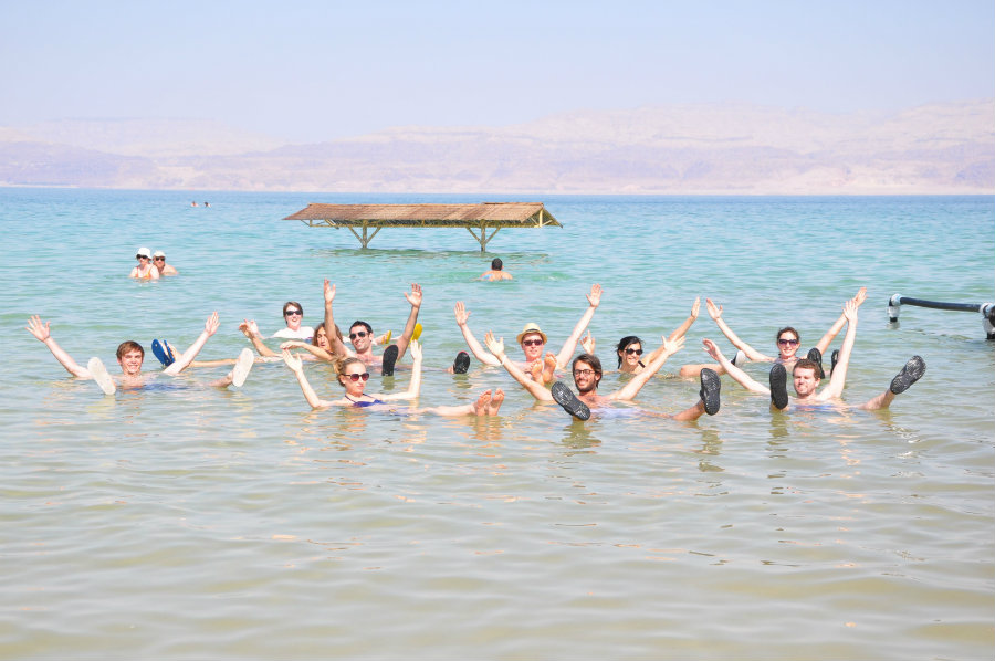 Excessive tourism has also had an adverse impact of the Dead Sea. Photo credit: Innovators Nation WordPress