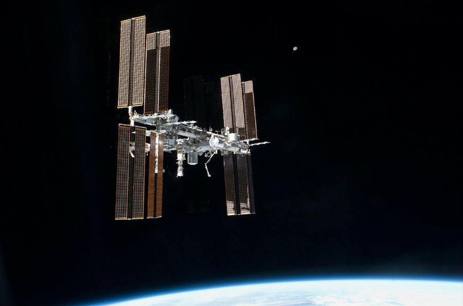 The International Space Station celebrates 16 years of having been occupied by humans. Photo credit:  NASA / Collect Space