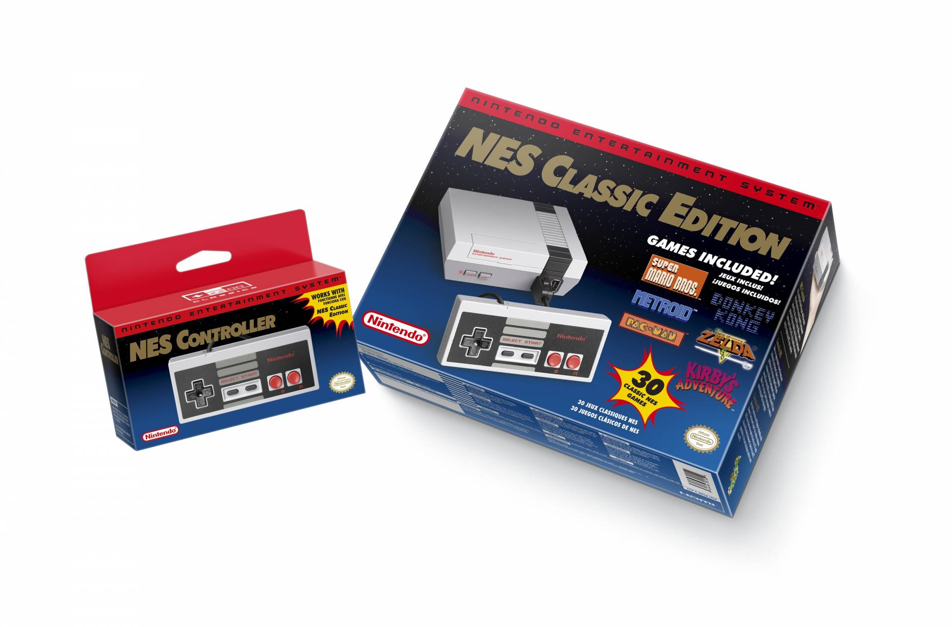 Nintendo's NES Classic Edition.