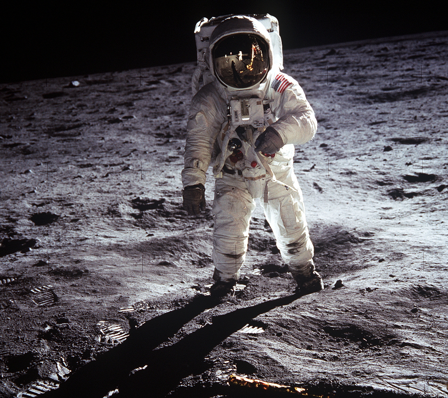 NASA Astronaut on the Moon