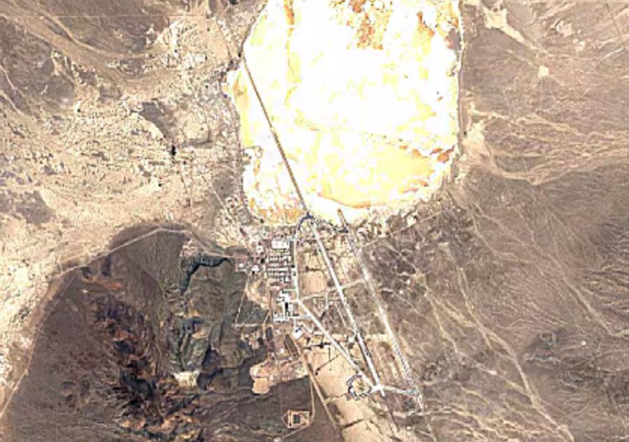 Area 51 in 2016. Photo credit: The Sun