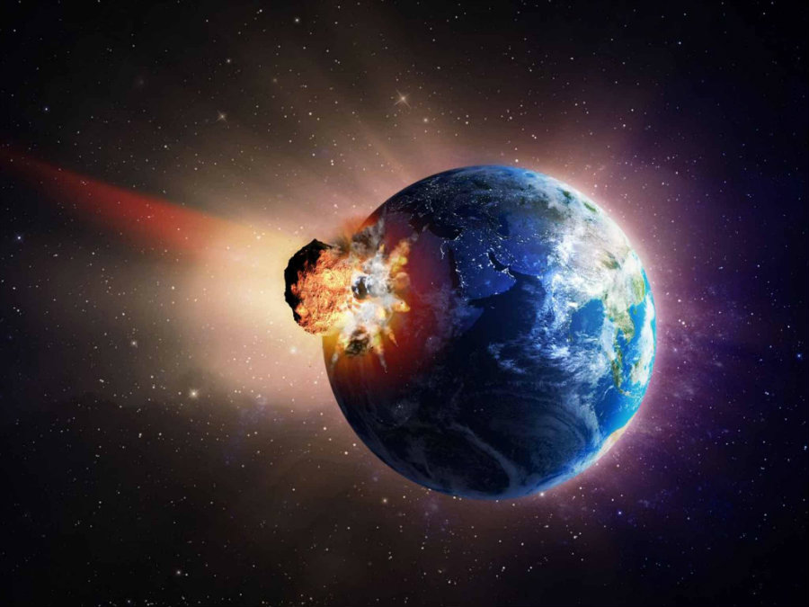 Some scientists believe that the world is unprepared for another comet or asteroid strike. Photo credit: Alamy / Independent