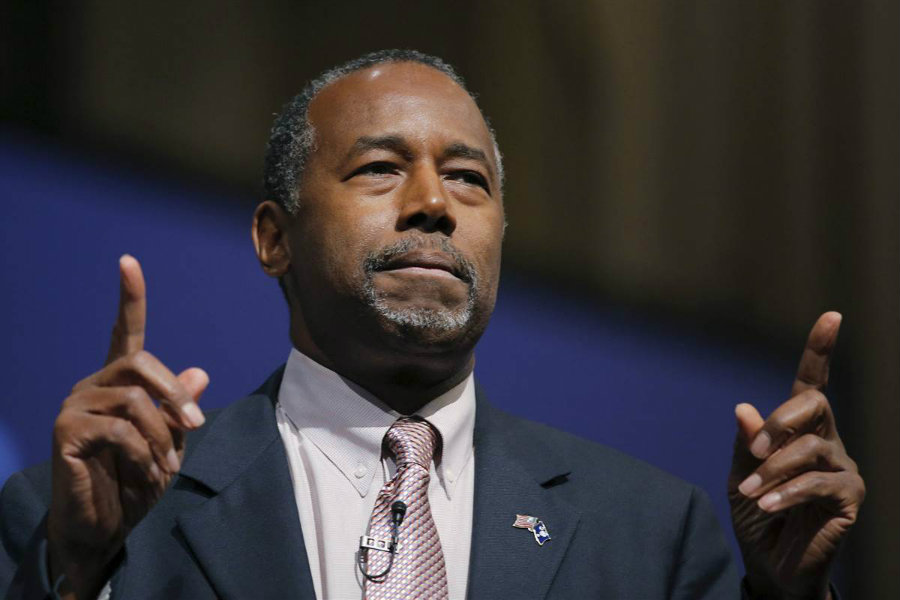 Ben Carson has been chosen to lead the Department of Housing and Urban Development. Photo credit: NBC News