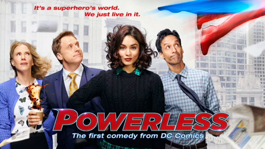 "Powerless is going to debut February 2, 2017."" Photo credit: Super Hero Hype"