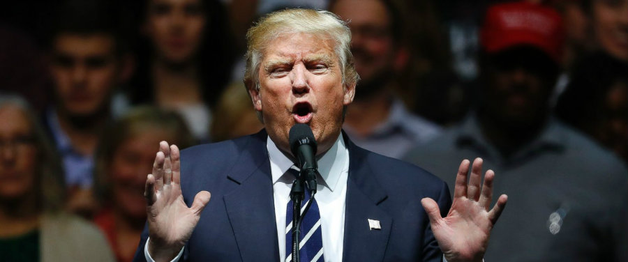 President-elect Donald Trump recently affirmed that he has an open mind on environmental issues like climate change. Photo credit: Paul Sancya / AP Photo / ABC NEws