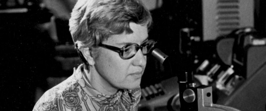 Vera was known to be a role model for women in astronomy. Photo credit: Carnegie Institution of Washington via AP Photo / ABC News