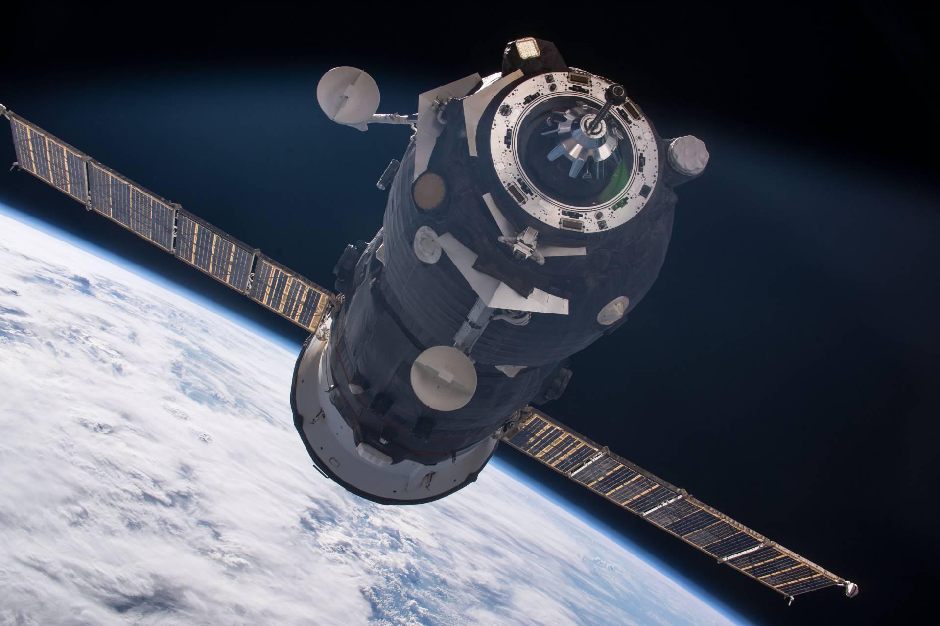 Soyuz capsule NASA Russia