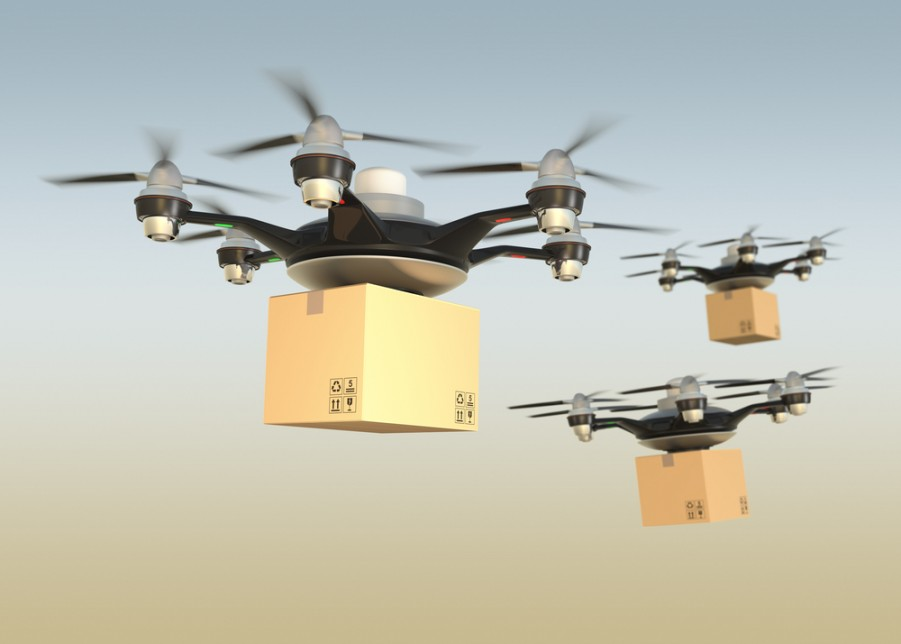 7 Eleven Drones Deliver A Product Image Credit