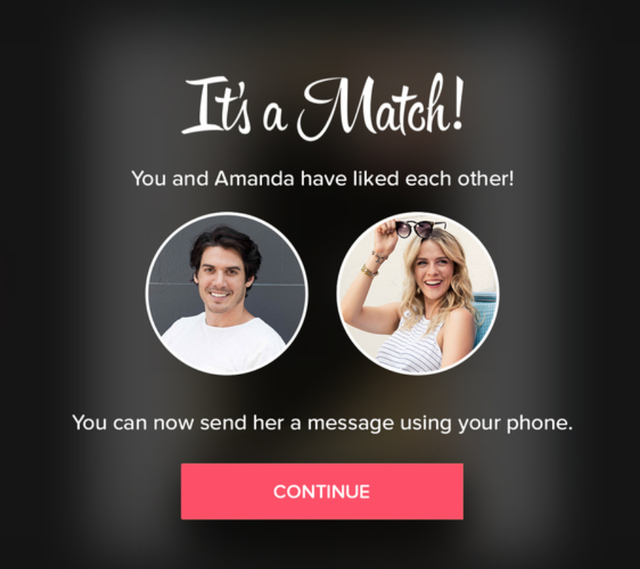 Tinder for Apple TV. Image credit: Tinder.