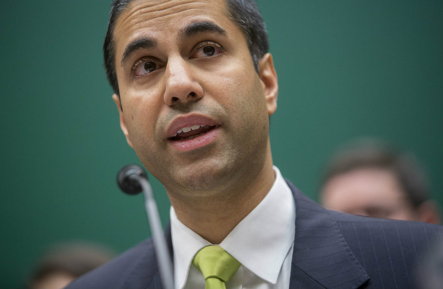 44-year-old Pai would be replacing Democrat Tom Wheeler. Photo credit: The Wall Street Journal