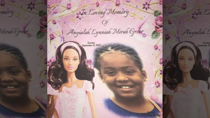 Anyialah Greer, a nine-year-old girl from Detroit, died hours after having a tonsillectomy. Photo credit: Family handout / Fox News