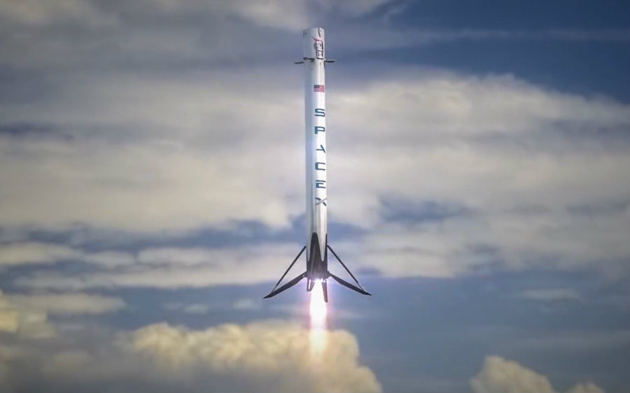 SpaceX has set a rehearsal launch at the KSC the day before the second month of 2017. Image credit: Americaspace.com.