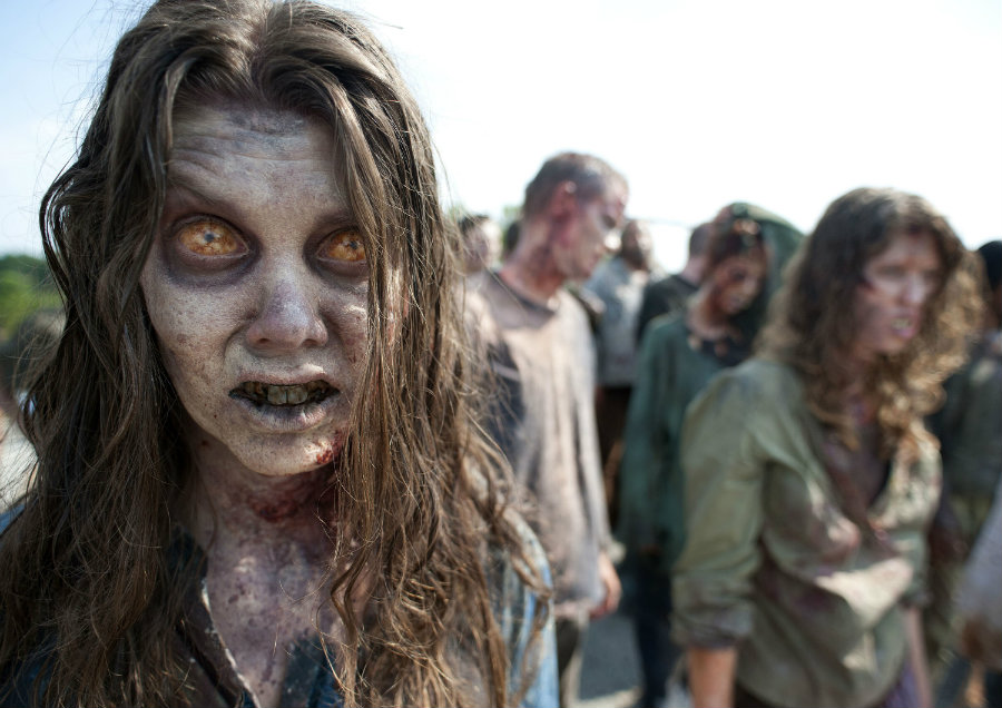 If the Earth had to face a zombie epidemic, it would take less than four months to erase humans from it. Photo credit: The Mary Sue