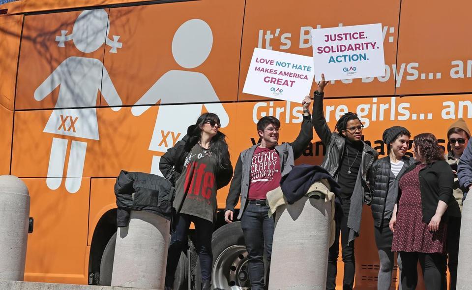 Anti-transgender Bus