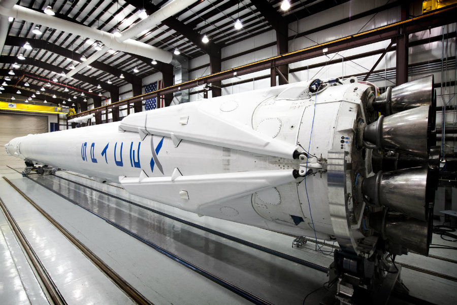 SpaceX designed the Falcon 9 rockets to be reusable. Image credit: Reddit