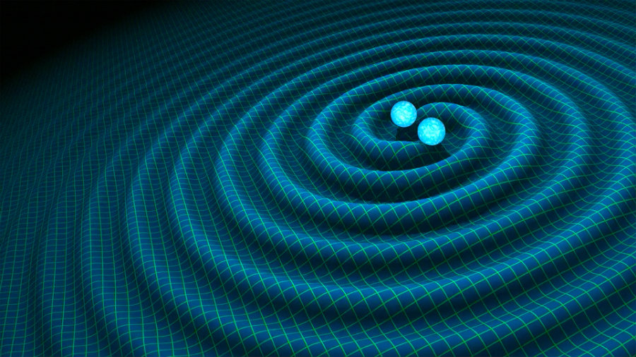 The existence of gravitational waves was first proposed by Albert Einstein, almost 100 years ago. Image credit: R. Hurt/Caltech-JPL / NASA