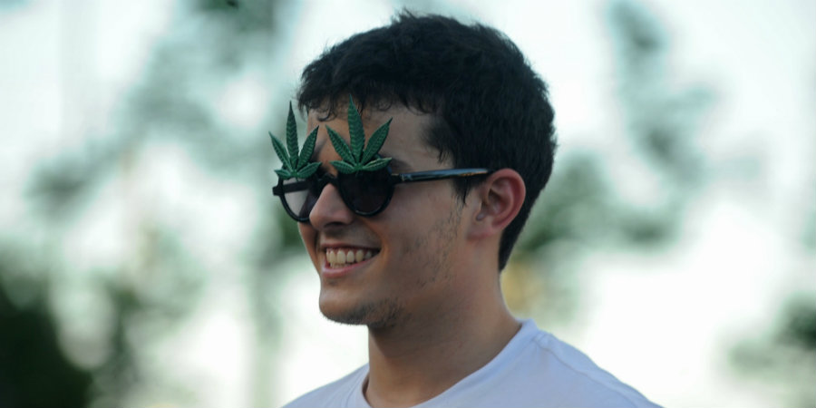 The poll showed that voters who are 35-years old or younger support marijuana the most. Image credit: The Huffington Post