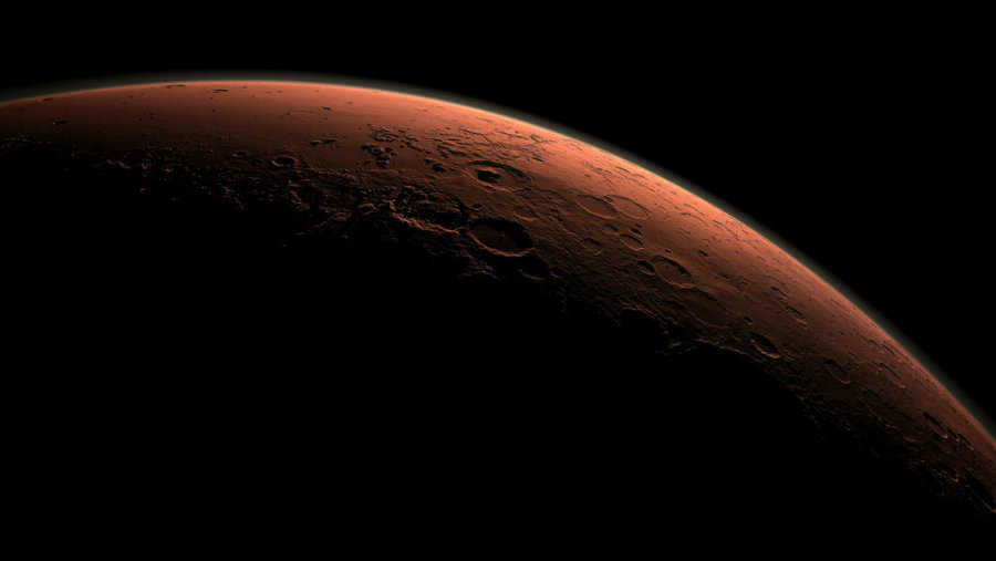 Scientists think an asteroid might have caused Mars' ancient tsunamis. Image credit: Reuters / NASA / JPL-Caltech / Handout / Popular Science