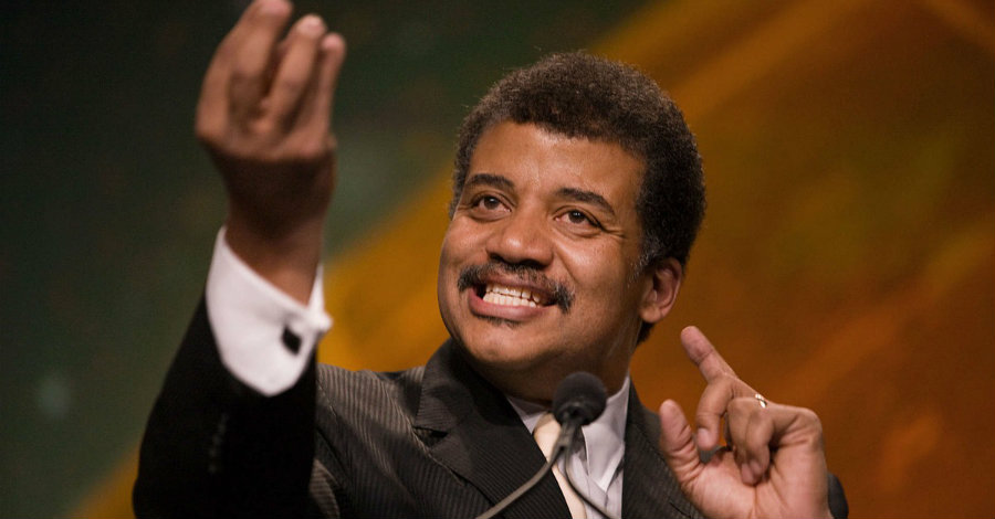 """Neil deGrasse Tyson said that President Trump's proposed budget will make America """"weak"""" and """"stupid."""" Image credit: Reddit"""