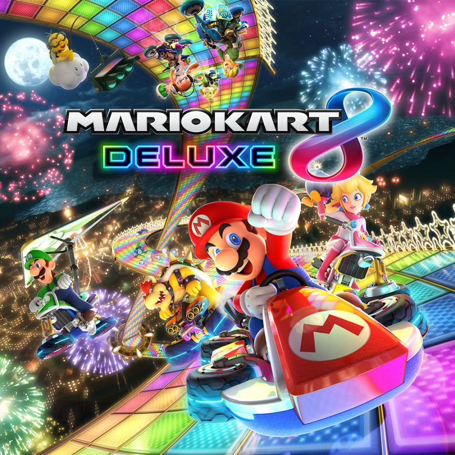 mario kart deluxe 8 new characters battle modes. Black Bedroom Furniture Sets. Home Design Ideas