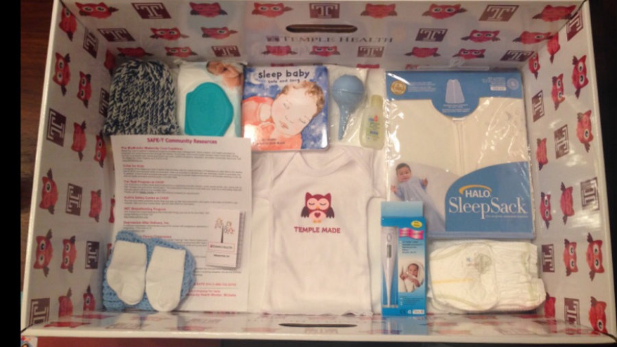 Baby boxes  also come packed with baby supplies and educational material to ensure that the child gets the care it deserves. Image credit: Fox News