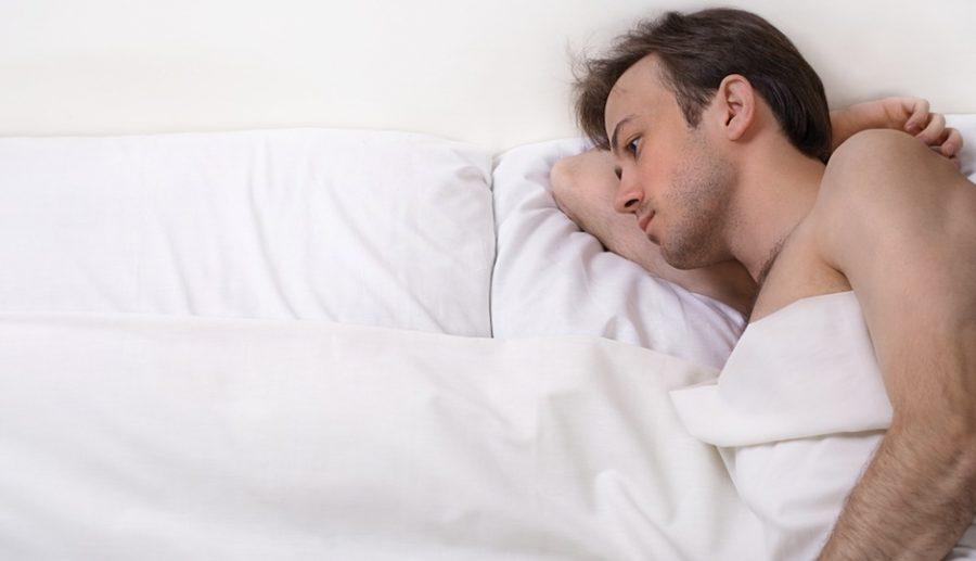 Man in Bed/ Masturbation/ Texas
