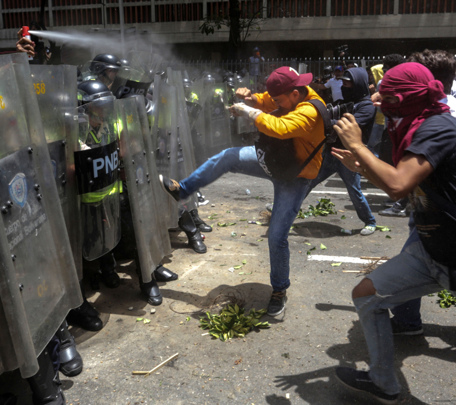 Venezuela Protests, Coup