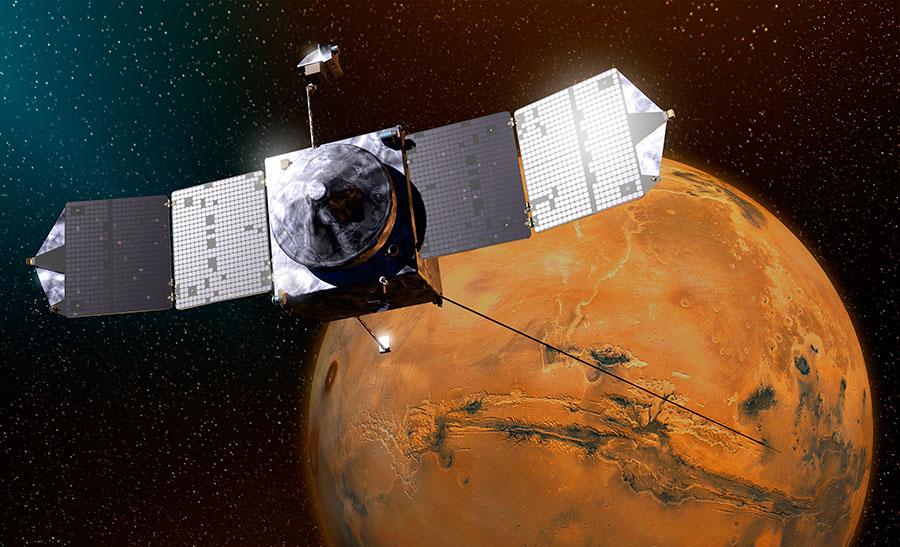MAVEN-Mars-probe