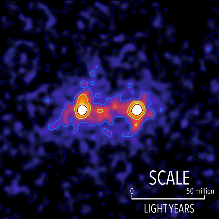 Researchers at Waterloo capture dark matter in image