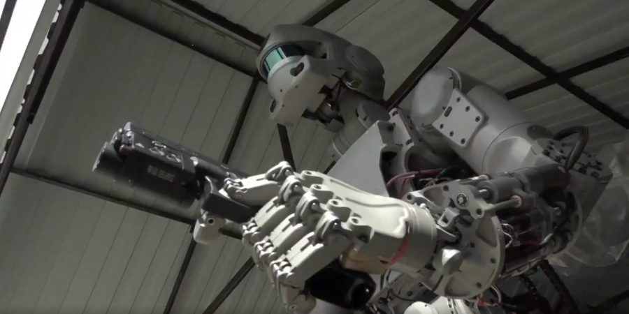 Russian Space Robot FEDOR