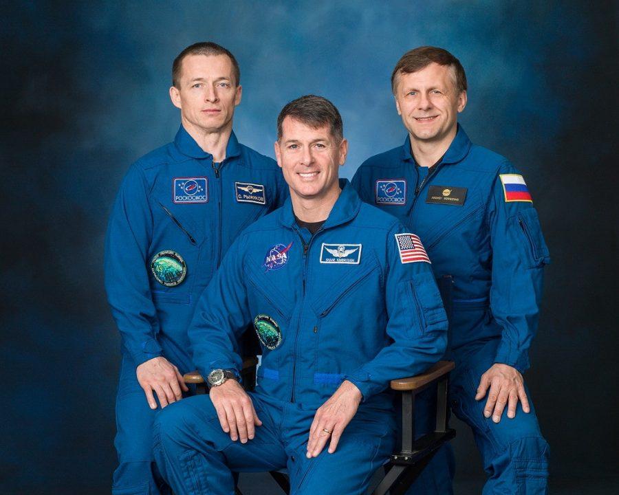 Soyuz MS02 Crew