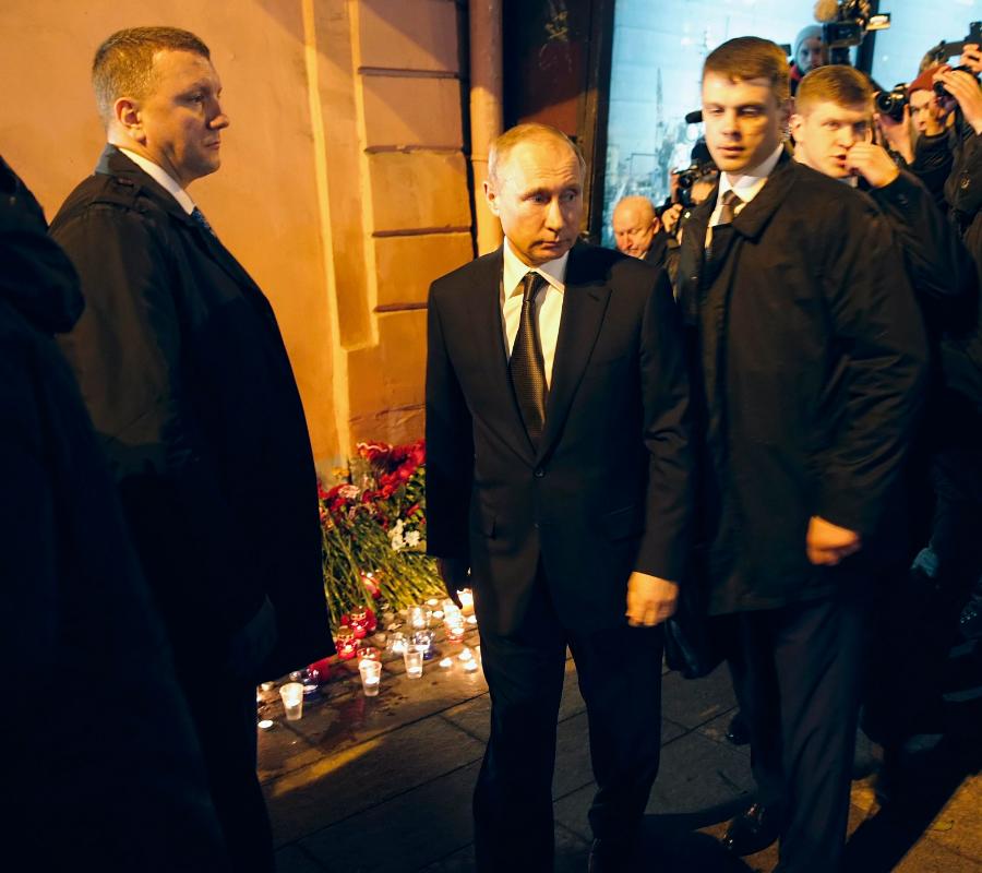 Russian President Vladimir Putin, Terror Attack