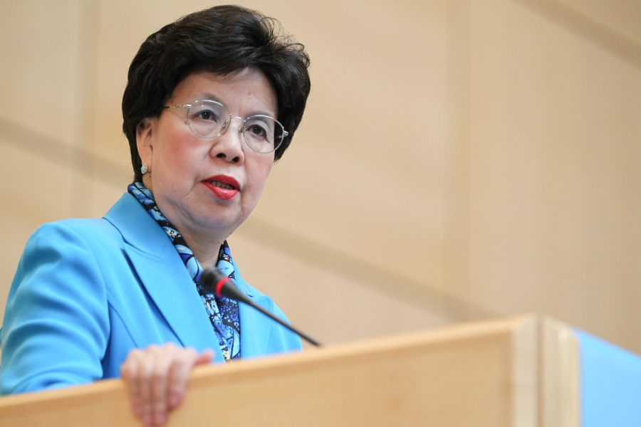 WHO director-General Margaret Chan.