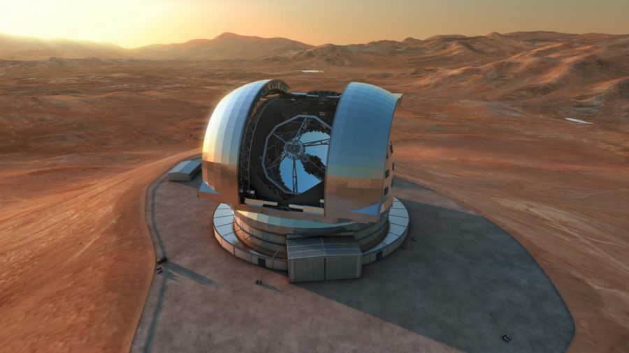 European Southern Observatory's Extremely Large Telescope