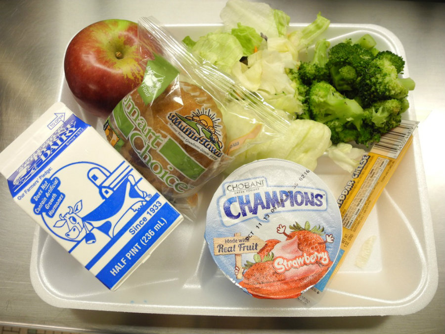 The USDA announced Monday new guidelines for school meal programs. Image credit:  Huffpost