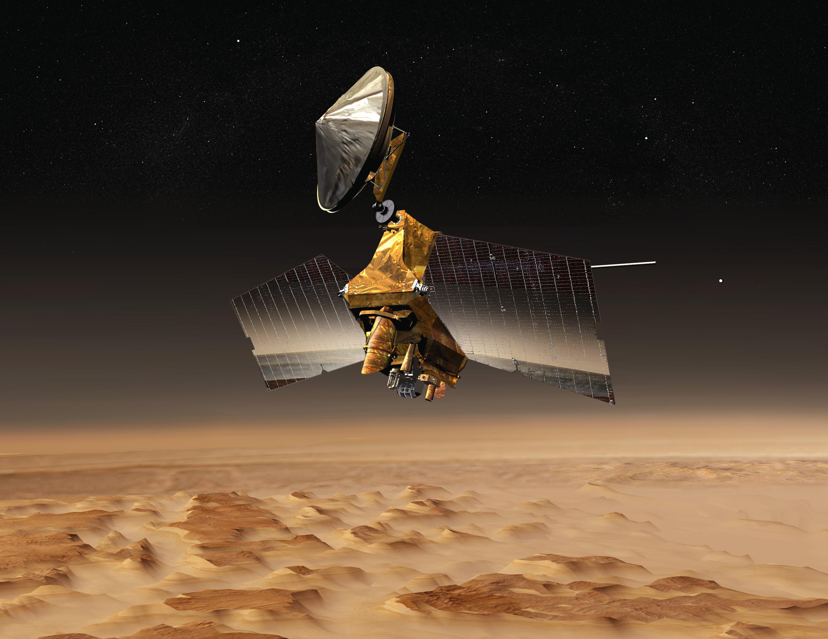 NASA's Mars Reconnaissance Orbiter.