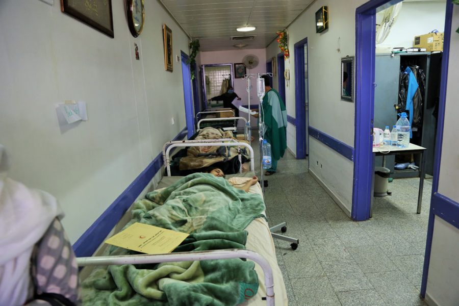Medical attention for cholera outbreak in yemen