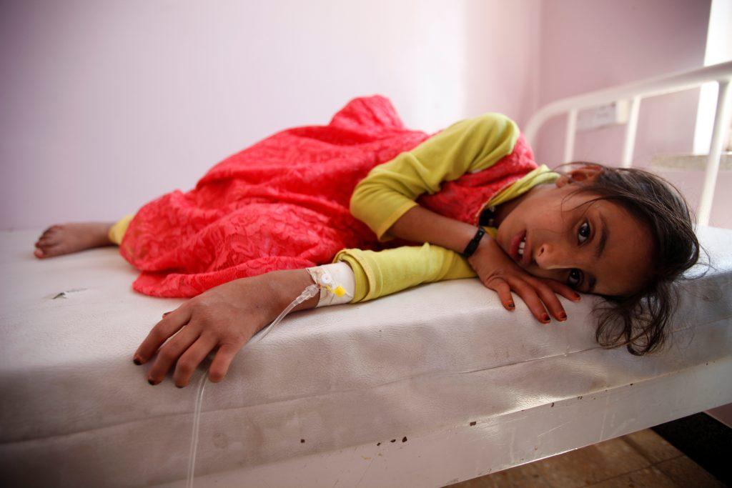 Cholera outbreak is affecting 200.000 people in Yemen